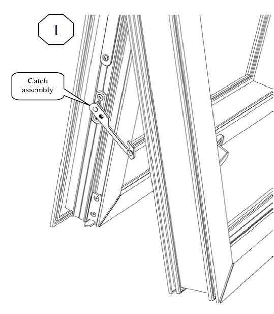 D44 Restrictor Safety Catch drawing 1 jpeg