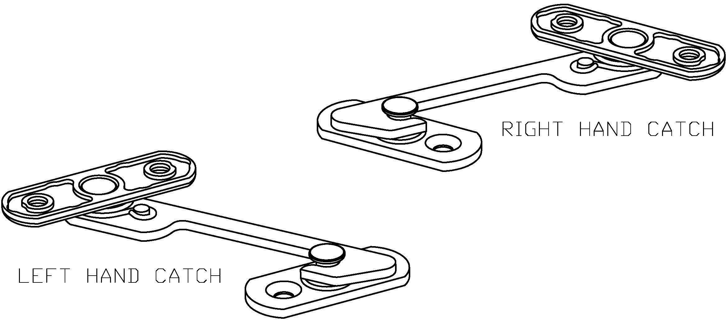 D64 Restrictor Safety Catch Handing drawing jpeg